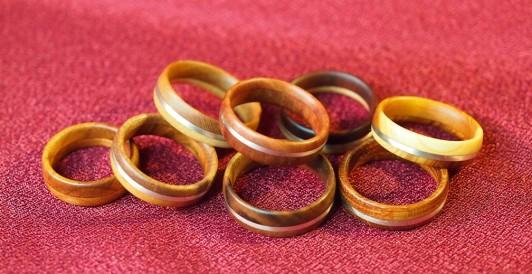 fa gyűrűk