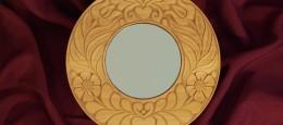 faragott tükör